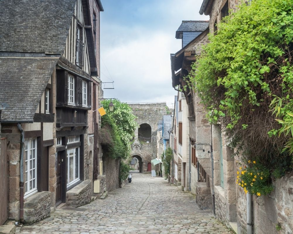 dinan cancale from rennes